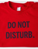 13 Bricks DO NOT DISTURB RED TODDLER TEE