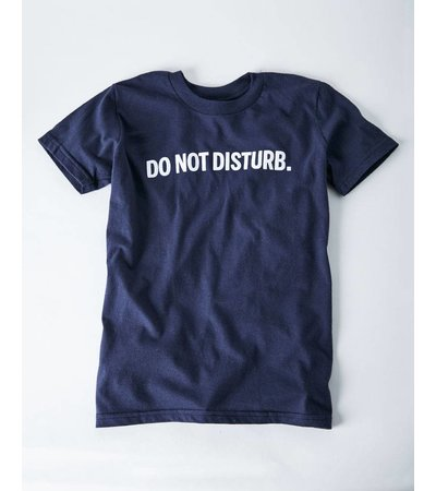DO NOT DISTURB NAVY YOUTH TEE