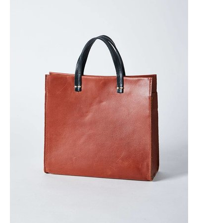 Clare V SMALL COGNAC BAG