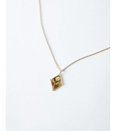 Molly Debiak OAK PASTURE RHOMBUS NECKLACE