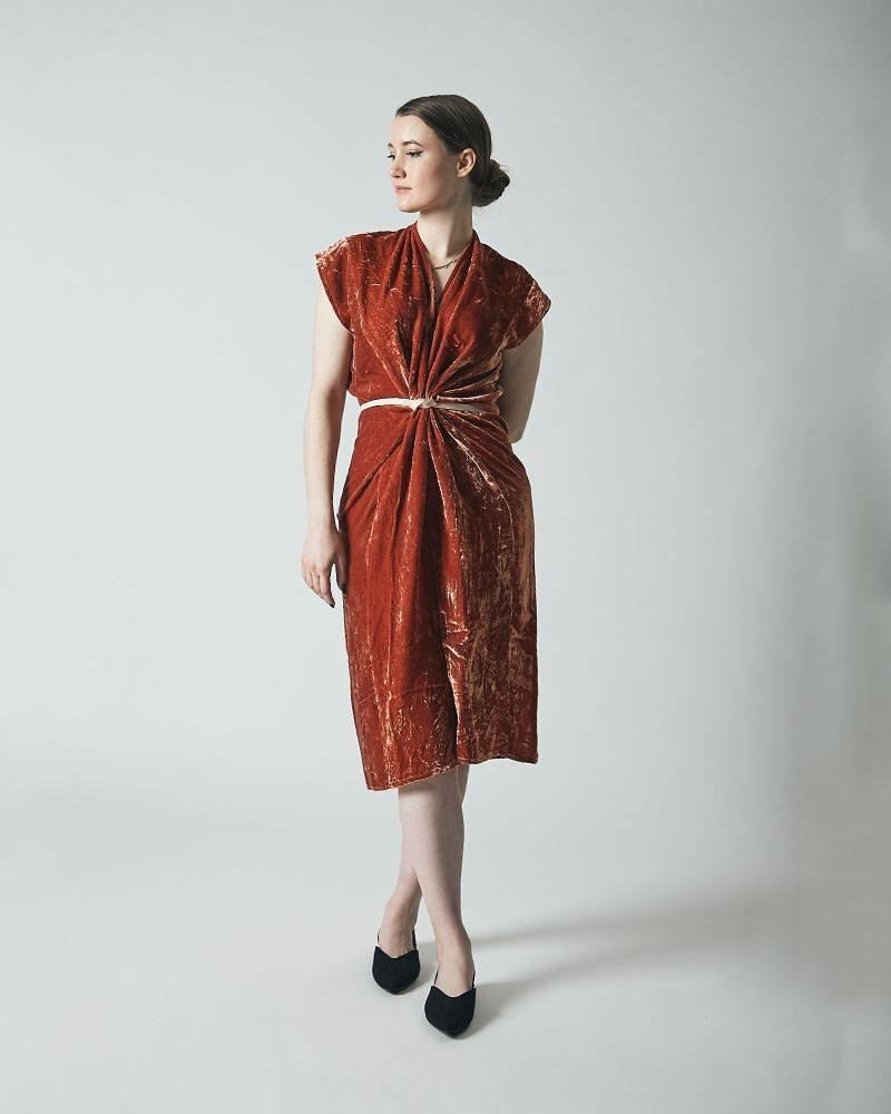 Miranda Bennett KNOT DRESS | QUINTANA