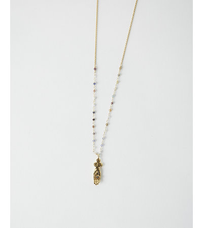 La2L SACHA HAND NECKLACE