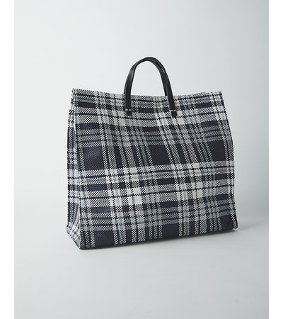 Clare V SIMPLE TOTE PLAID