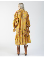 Untitled Co LIMI GOLD FLORAL DRESS
