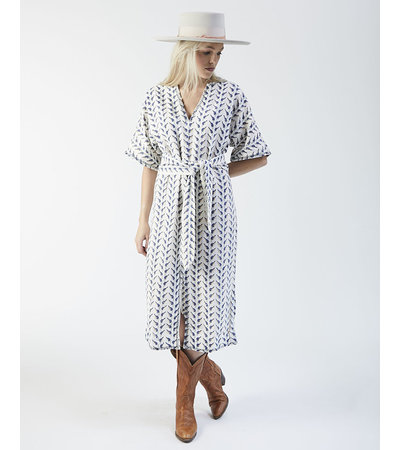 MIRTH SYDNEY BIRD BLOCK DRESS