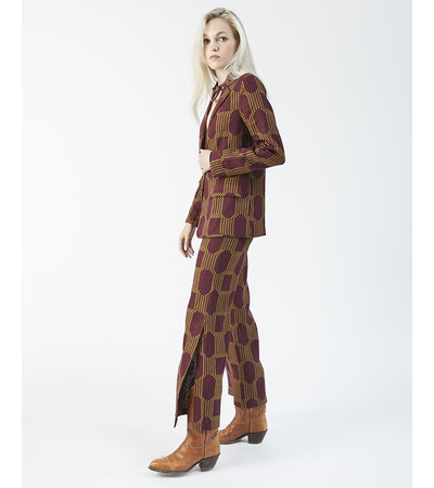 Paloma Wool WINE SUIT PANTS