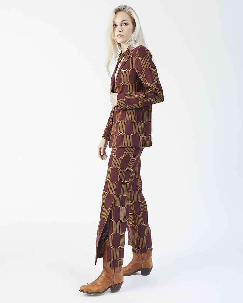 Paloma Wool WINE SUIT PANTS