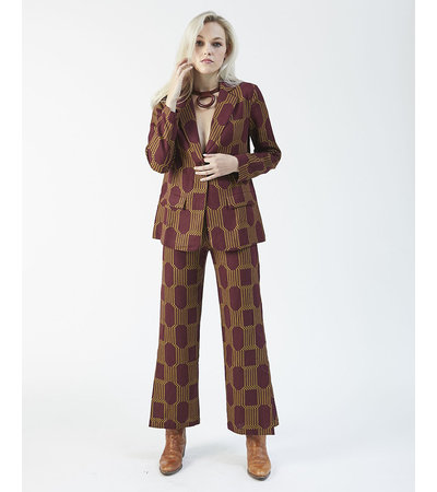 Paloma Wool WINE SUIT JACKET
