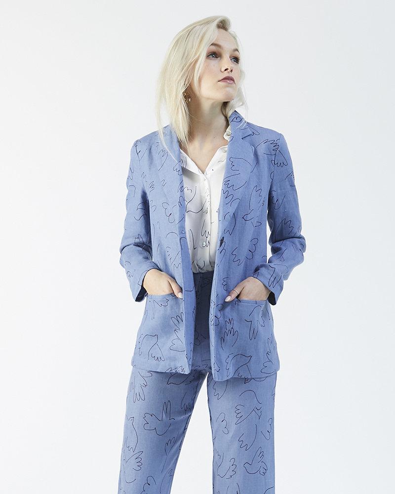 Paloma Wool BLUE BIRD SUIT JACKET