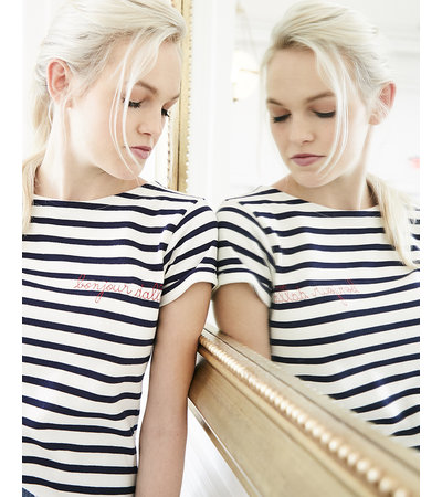 Maison Labiche BONJOUR DALLAS SAILOR SHIRT