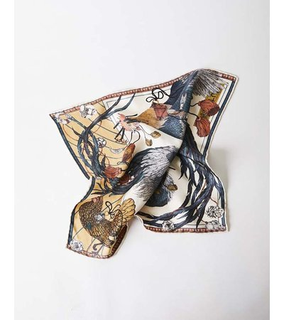 Sabina Savage THE ROOSTERS DANCE SCARF
