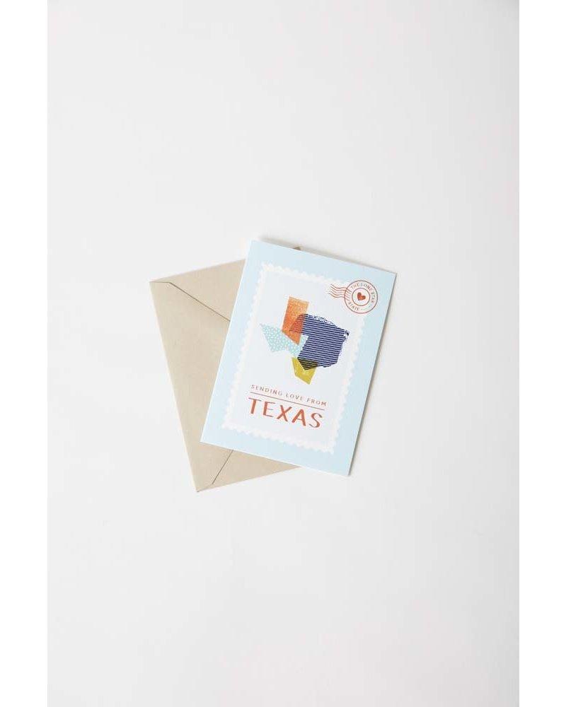 Tiny Treehouse Co. Texas Greeting Card