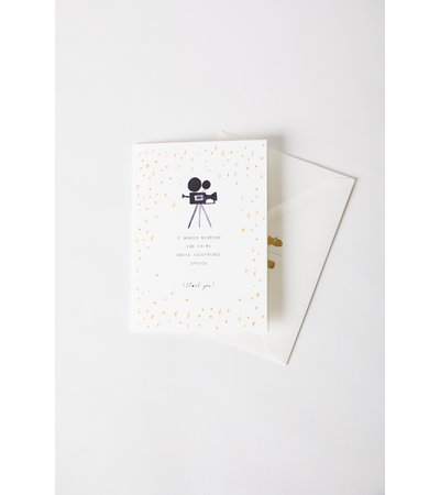 Mr. Boddington's Studio OSCAR SPEECH CARD