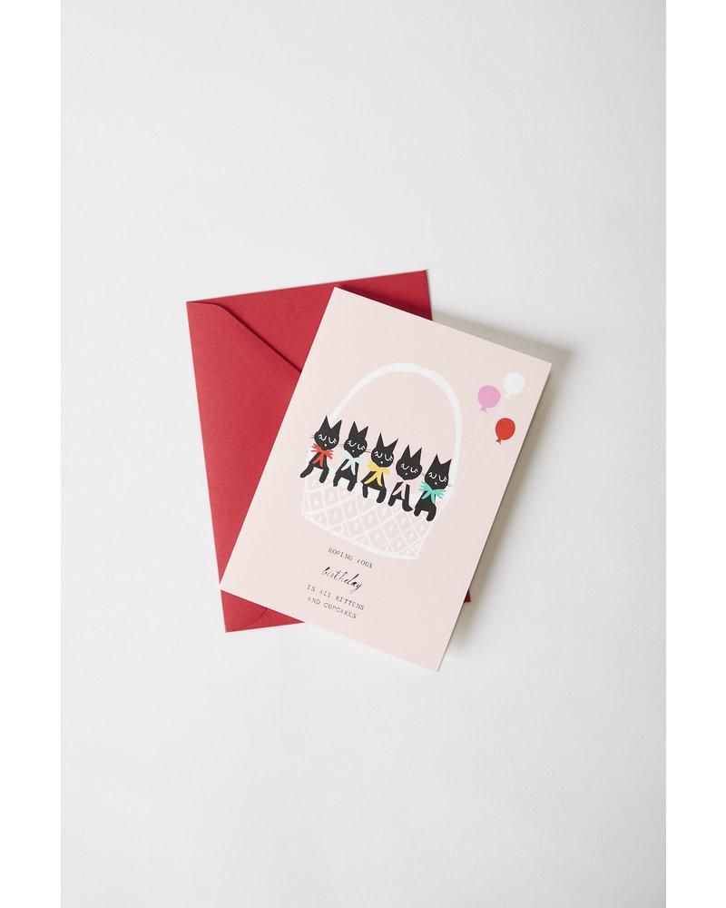Mr. Boddington's Studio Kitten Birthday Card
