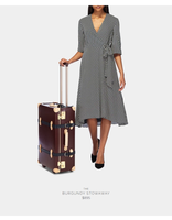 Steamline Luggage THE ARCHITECT STOWAWAY IN BURGUNDY