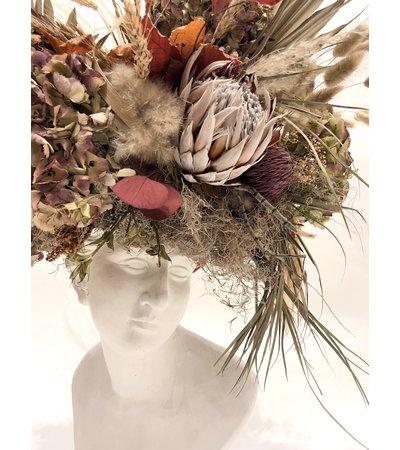 Billie Ball & Co. Statue Headpiece Display