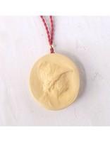 Marcie McGoldrick Ceramics Cameo Pendant