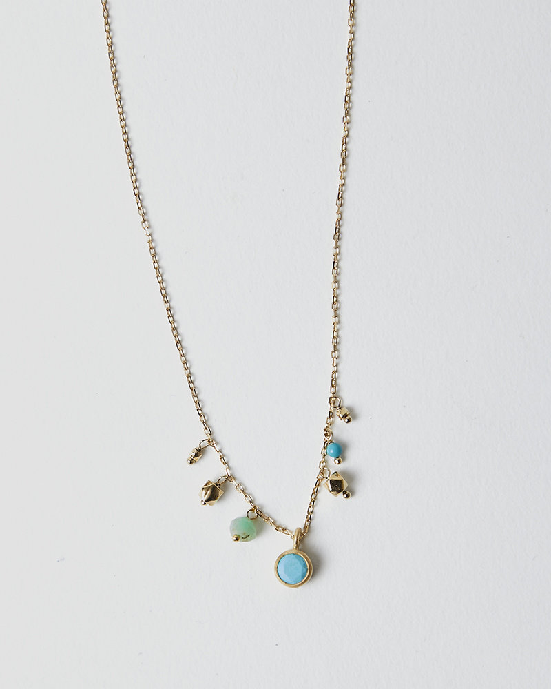 5 Octobre LOOP TURQUOISE NECKLACE