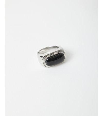 Vintage VINTAGE BLACK ONYX RING