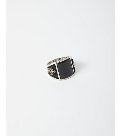 Vintage VINTAGE BLACK ONYX PHOENIX RING