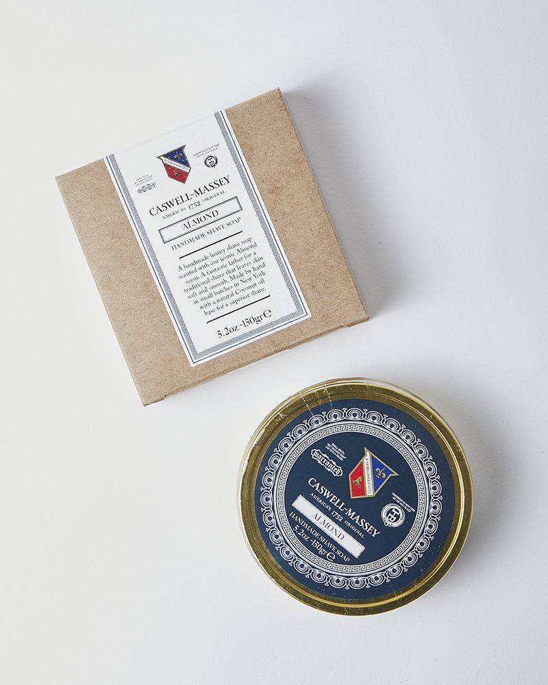 Caswell-Massey ALMOND SHAVING SOAP TIN