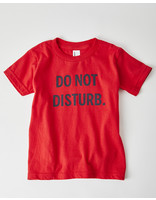 DO NOT DISTURB RED TODDLER TEE