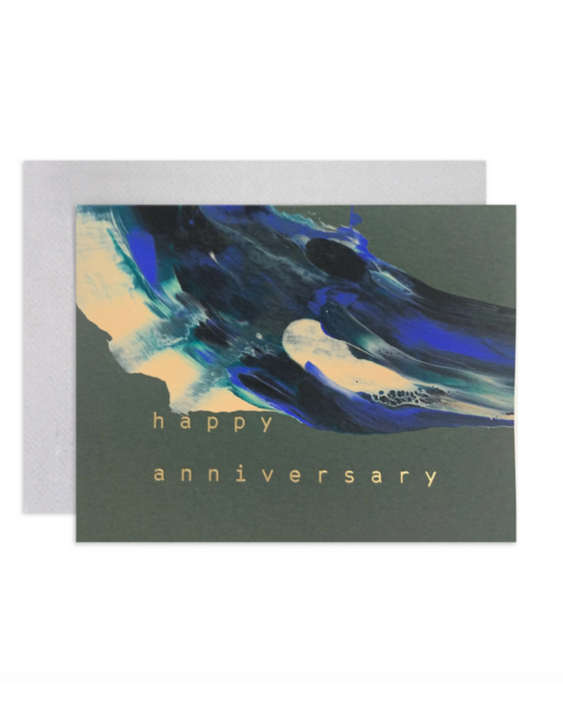 Moglea ANNIVERSARY SWIRL CARD