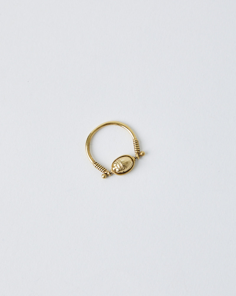 La2L ROTATING SCARAB BEETLE RING