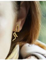La2L SERPENT EARRINGS