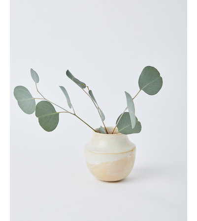 Era Ceramics MESA VASE IN TALLOW