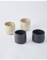 Kendall Davis Clay Black Ceramic Cup