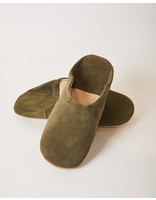 SOCCO Designs BABOUCHE SUEDE SLIPPERS