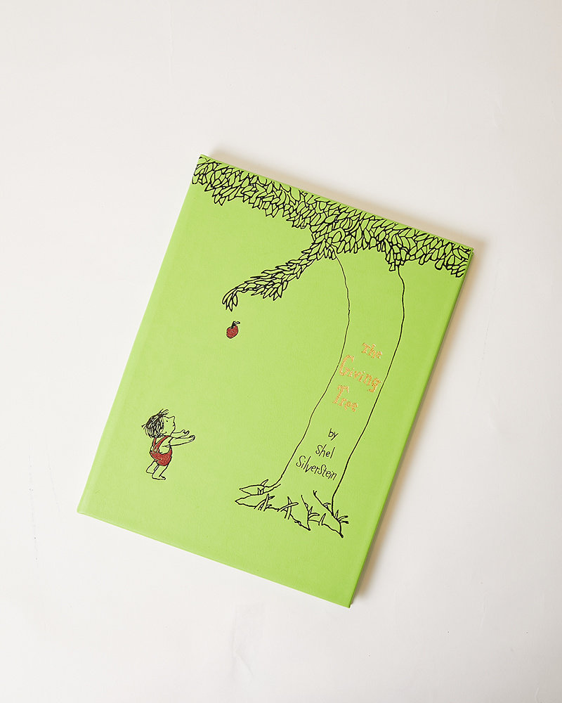 Graphic Image THE GIVING TREE LEATHER BOOK
