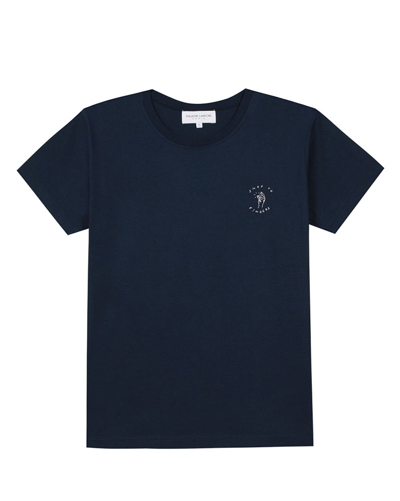 Maison Labiche Snap Your Fingers Tee Shirt