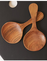 Bloomingville HAND CARVED MANGO WOOD SPOON