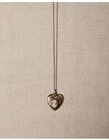 Vintage by Commerce VINTAGE CAMEO HEART LOCKET