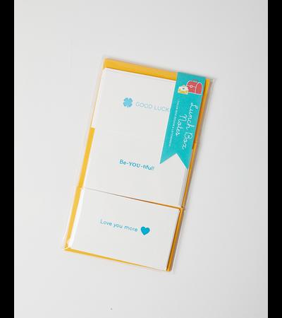 Color Box Design & Letterpress LUNCHBOX NOTES