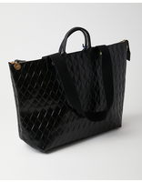 Clare V LE ZIP SAC - BLACK