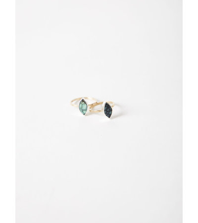 Young In The Mountains FORMA MARQUISE TURQUOISE RING