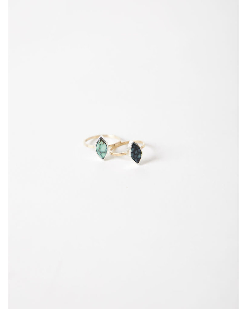 Young In The Mountains Forma Marquise Turqioise Ring