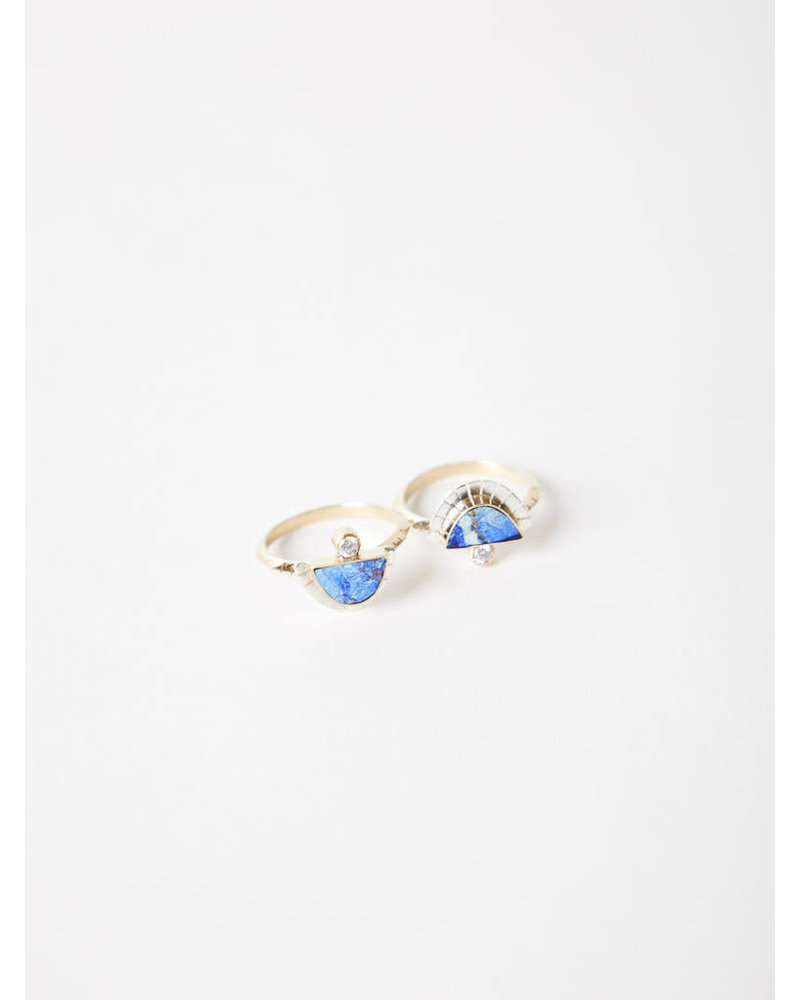 Young In The Mountains Solstice Ring Azurite