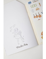 Moulin Roty Les Parisiennes Coloring and Sticker Book