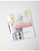 Color Box Design & Letterpress Luxe Watercolor Kit