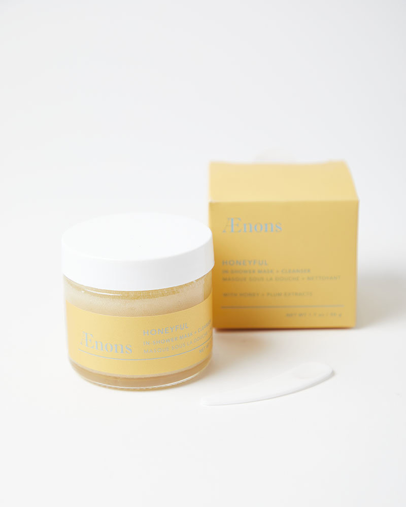Aenons Honeyful Shower Mask and Cleanser