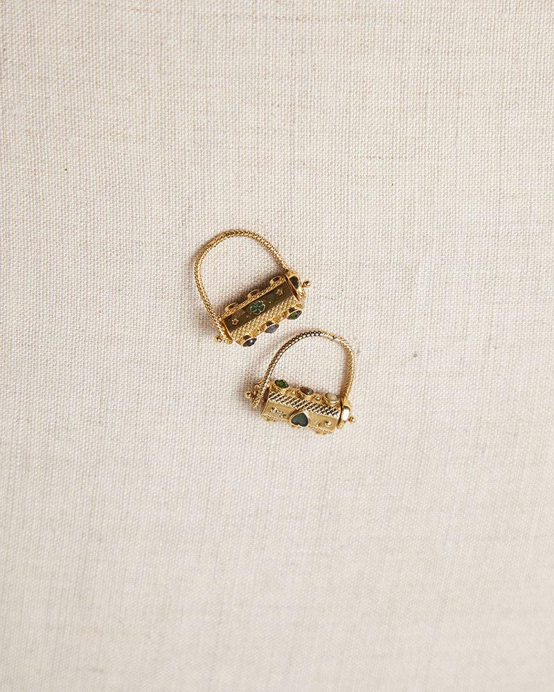 La2L Talisman Heart + Luck Spinner Ring