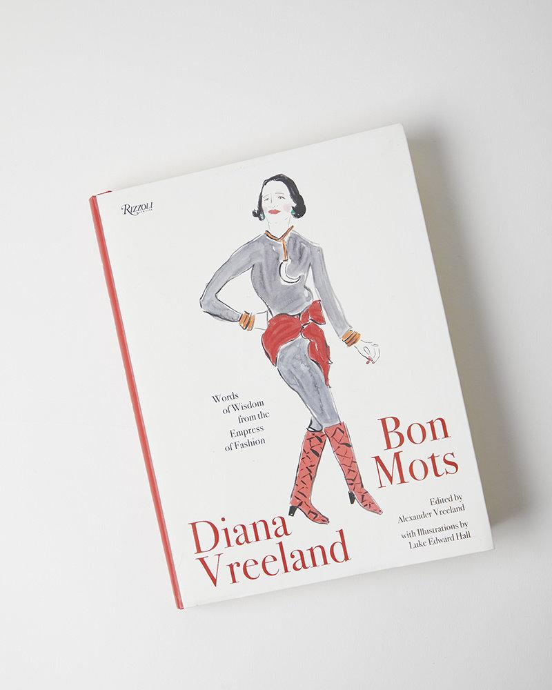 Penguin Random House Diana Vreeland: Bon Mots: Words of Wisdom From the Empress of Fashion