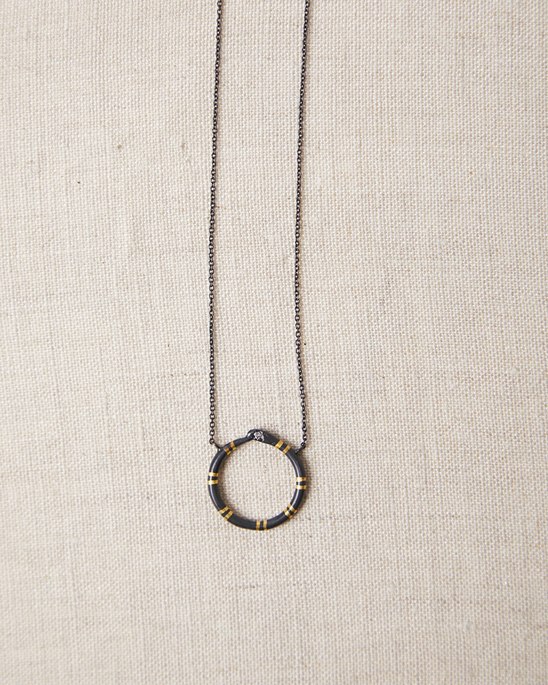 Acanthus Ourboros Necklace