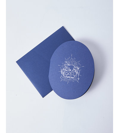 Open Sea OVAL HOROSCOPE CARD