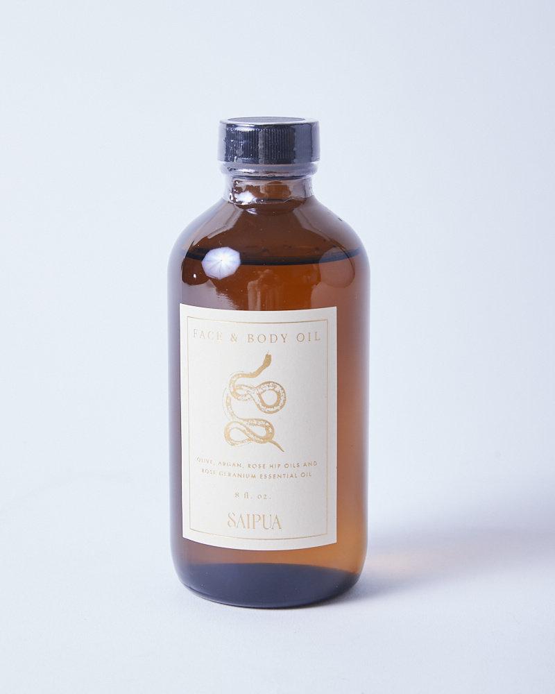 Saipua ROSE GERANIUM FACE AND BODY OIL