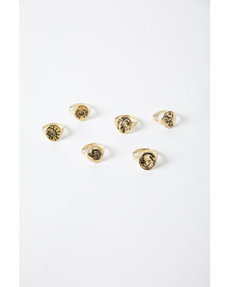 Talon NYC Horoscope Rings